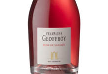 champagne Geoffroy. Rosé de saignée