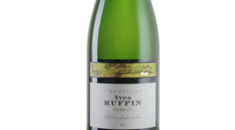 Champagne Yves Ruffin. Brut premier cru