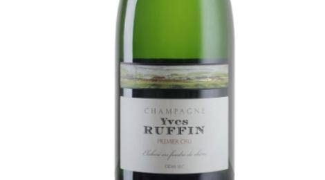 Champagne Yves Ruffin. Demi-sec premier cru