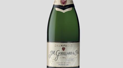 Champagne J.M. Gobillard et Fils. Brut grande réserve Premier Cru