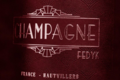 Champagne Fedyk. Brut rosé