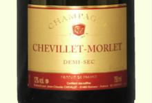 Champagne Chevillet-Morlet. Demi-sec