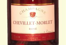 Champagne Chevillet-Morlet. Brut rosé