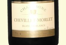 Champagne Chevillet-Morlet. Blanc de blancs