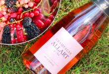 Champagne Allart et Fils. Champagne brut rosé