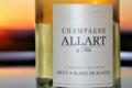 Champagne Allart et Fils. Champagne brut blanc de blancs