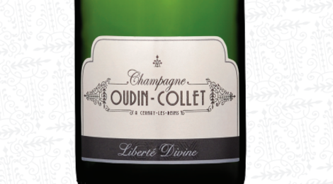 Champagne Oudin-Collet. Liberté divine
