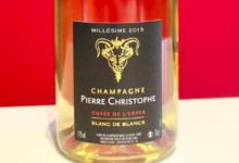 Champagne Pierre Christophe. Blanc de blancs millésimé