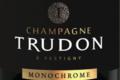 Champagne Trudon. Monochrome