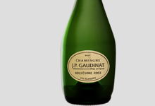 Champagne JP Gaudinat. Cuvée Elitiste Vintage Millésime