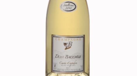 Champagne Dom Bacchus. Cuvé Cupidon