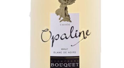 Champagne Bouquet. Cuvée Opaline