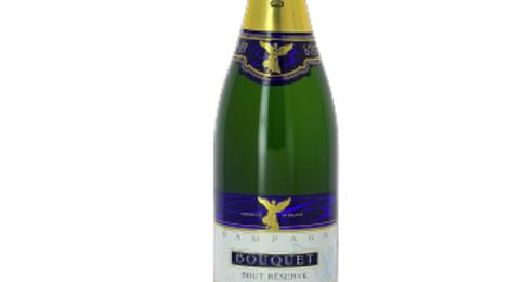 Champagne Bouquet. Brut réserve