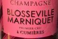 Champagne Blosseville-Marniquet. Brut rosé