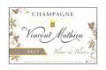 Champagne Vincent Mathieu. Brut Blanc de blancs