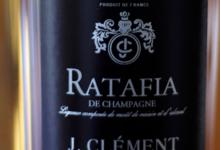 Champagne J.Clément. Ratafia champenois