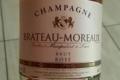 Champagne Brateau-Moreaux. Brut rosé