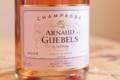 Champagne Arnaud Guebels. Rosé
