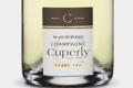 Champagne Cuperly. Blanc de blancs grand cru