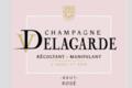 Champagne Delagarde. Brut rosé