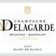 Champagne Delagarde. Blanc de blancs