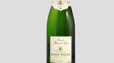 Champagne Alain Bailly. Cuvée Fleur de vigne