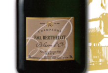 Champagne Berthelot Paul. Cuvée Blason d'or