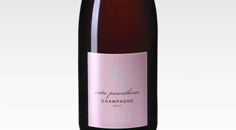Champagne Alain Bernard. Rosé Entre-Parenthèses