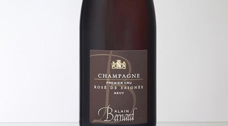 Champagne Alain Bernard. Rosé de saignée
