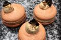 Boulangerie Majoulet Frères. Macaron noisette coeur praliné