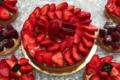 Boulangerie Majoulet Frères. Tarte aux fraises
