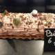 Boulangerie Agathe. Bûche framboise