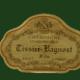 Champagne Tissier Bagnost Fils. Champagne millésimé