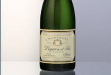 Champagne Lequien et Fils. Champagne brut blanc de blancs