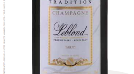 Champagne Lucien Leblond. tradition