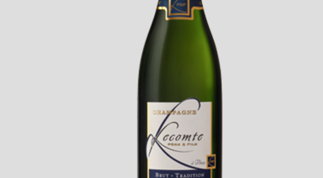 Champagne Lecomte Père et Fils. Brut tradition