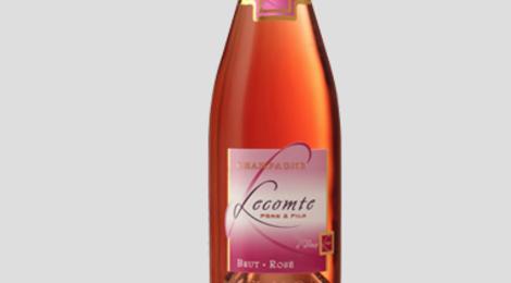 Champagne Lecomte Père et Fils. Brut rosé
