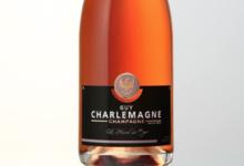 Champagne Guy Charlemagne. Brut rosé