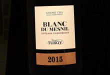Champagne Michel Turgy. Coteaux Champenois