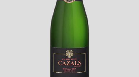 Champagne Claude Cazals. Millésime