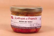 Les petits mijotés de Francis. Axoa de veau