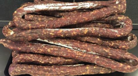 Boucherie CA Pollet. Saucisse sèche de canard