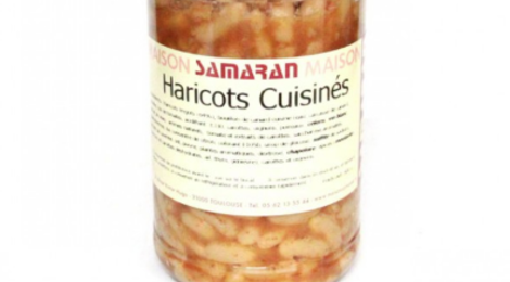 Maison Samaran. Haricots cuisinés