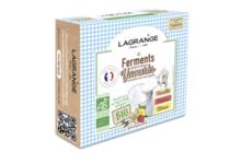 Lagrange. Ferments bio Vanille/Fraise/Citron