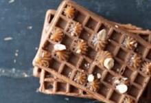 Gaufres chocolat et crème de marrons