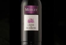 Distillerie Merlet et Fils. Crème de framboise