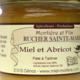 Rucher Sainte-Marie. Miel et abricot