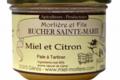Rucher Sainte-Marie. Miel et citron
