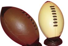 Le ballon de rugby / foot américain