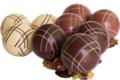 Chocolaterie De Larra. Boules de pétanque